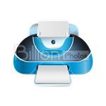 Сlipart Printer Computer Printer Office Supply Computer Laser vector icon cut out BillionPhotos