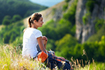Сlipart Hiking Women Camping Child Appalachian Trail photo  BillionPhotos