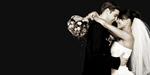Сlipart Wedding Bride Groom Kissing Wedding Dress   BillionPhotos
