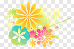 Сlipart Flower Backgrounds Floral Pattern Summer Spring vector cut out BillionPhotos