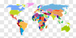 Сlipart World Map Map Vector countries continents vector cut out BillionPhotos