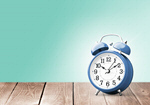 Сlipart clock alarm old retro blue   BillionPhotos