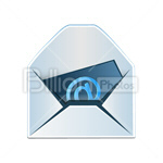 Сlipart  Envelope E-Mail Mail email Mailbox vector icon cut out BillionPhotos