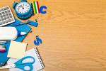 Сlipart desk children school notebook marker photo  BillionPhotos