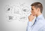 Сlipart Thinking Businessman Business Contemplation Confusion   BillionPhotos