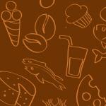 Сlipart Food Pattern Vegetable Backgrounds Fruit vector seamless BillionPhotos