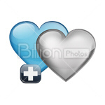 Сlipart Hearts Heart shape Favorite Add to favorite Add vector icon cut out BillionPhotos
