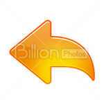 Сlipart Arrow Arrow Sign Left Direction Interface Icons vector icon cut out BillionPhotos