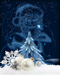 Сlipart Christmas Snow Backgrounds Christmas Ornament santa claus   BillionPhotos