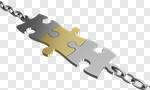 Сlipart Trust Chain Puzzle Connection Partnership 3d cut out BillionPhotos