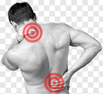Сlipart pain painful painfulness man isolated photo cut out BillionPhotos