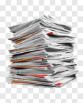 Сlipart Document Paper File Stack Paperwork photo cut out BillionPhotos