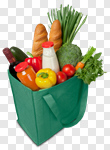 Сlipart Groceries Shopping Bag Shopping Environmental Conservation Green photo cut out BillionPhotos