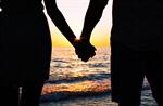 Сlipart beach young sunset lovers summer photo  BillionPhotos