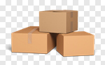 Сlipart Box Moving House Moving Office Package Cardboard 3d cut out BillionPhotos