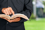 Сlipart Bible Priest Preacher Reading Minister   BillionPhotos