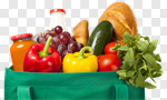 Сlipart Groceries Healthy Eating Food Shopping Paper Bag photo cut out BillionPhotos