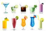 Сlipart cocktail drinks glass collection alcohol ice   BillionPhotos