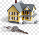 Сlipart House Key Residential Structure Real Estate Isolated photo cut out BillionPhotos