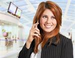 Сlipart Airport Business Travel Mobile Phone Women Travel   BillionPhotos