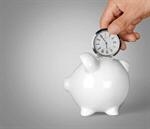 Сlipart Time Savings Time is Money Clock Piggy Bank   BillionPhotos
