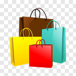Сlipart Shopping Bag Buying Consumerism Price Tag vector cut out BillionPhotos
