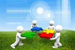 Сlipart Teamwork Puzzle Partnership Cooperation Community   BillionPhotos