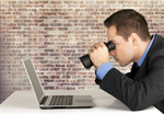 Сlipart Searching Binoculars Computer Laptop Business   BillionPhotos