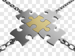 Сlipart Chain Link Connection Puzzle Mediation 3d cut out BillionPhotos