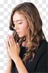 Сlipart Praying Women People Depression Sadness photo cut out BillionPhotos