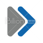 Сlipart next forward button push button arrow vector icon cut out BillionPhotos