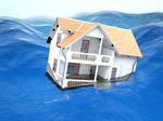 Сlipart Flood House Sinking Residential Structure Water 3d  BillionPhotos
