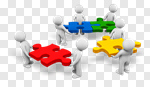 Сlipart Puzzle Sharing Merger Confusion Business 3d cut out BillionPhotos