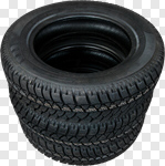 Сlipart Tire Auto Repair Shop Car Stack Tire Track photo cut out BillionPhotos
