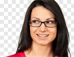 Сlipart Glasses Smiling Human Teeth Human Face Fashion photo cut out BillionPhotos