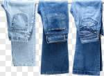 Сlipart Jeans Men Denim Hanging Clothing photo cut out BillionPhotos