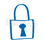 Сlipart Lock Padlock Symbol Security Security System vector icon cut out BillionPhotos