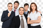 Сlipart Business People Team Cheerful Group Of People photo cut out BillionPhotos