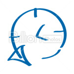 Сlipart Clock Clocks Time History Browser History vector icon cut out BillionPhotos