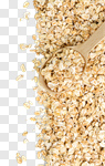 Сlipart oat oatmeal background closeup isolated photo cut out BillionPhotos
