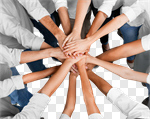 Сlipart Human Hand Teamwork People Connection Partnership photo cut out BillionPhotos