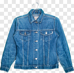 Сlipart Clothing Jacket Hanger Denim Jacket Shirt photo cut out BillionPhotos