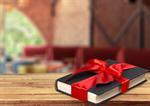 Сlipart book gift bow present day   BillionPhotos