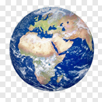 Сlipart Earth World Map Planet Map USA 3d cut out BillionPhotos