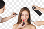 Сlipart Human Hair Hairdresser Make-up Beauty Fashion Model photo cut out BillionPhotos