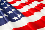 Сlipart American Flag Flag USA Curve Macro photo  BillionPhotos
