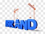 Сlipart Branding Marketing Built Structure Business Identity 3d cut out BillionPhotos