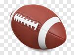 Сlipart Football American Football Ball Isolated Superbowl photo cut out BillionPhotos