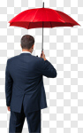 Сlipart Insurance Umbrella Insurance Agent Business Red photo cut out BillionPhotos
