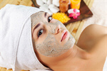 Сlipart mask facial green treatment mud photo  BillionPhotos